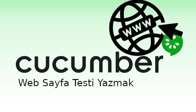 Cucumber ile 10 Dakikada Web Sayfası Testi