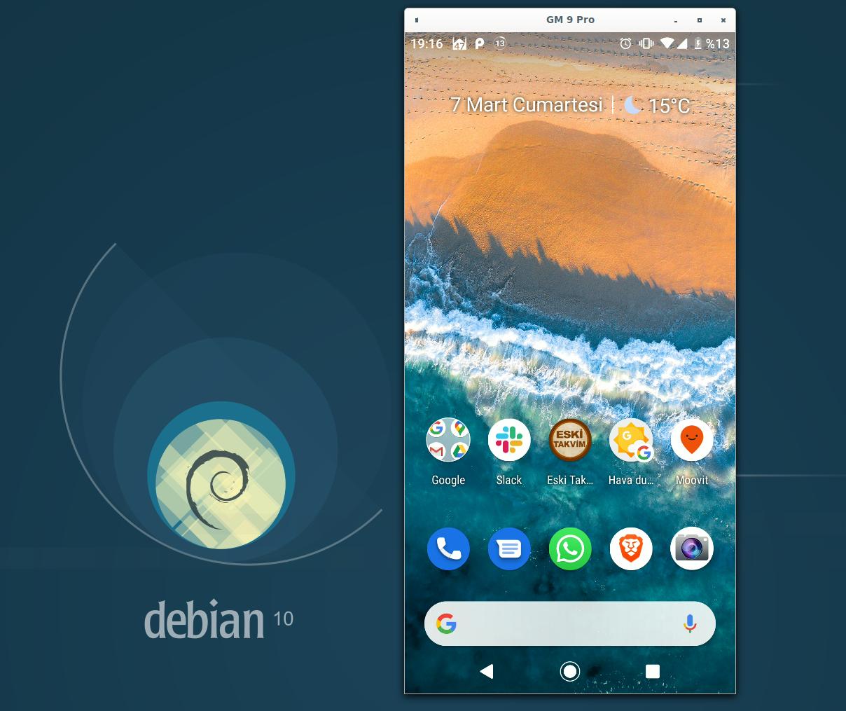 Android Cihazı Bilgisayara Bağlama Ekran Görüntüsü